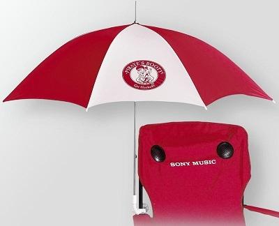 48 Inch Clamp On Beach Chair Umbrella CLEARANCE
