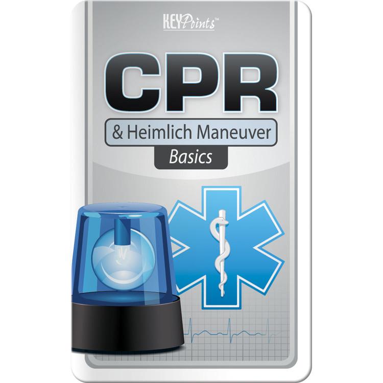 Key Points - CPR and Heimlich Maneuver Basics