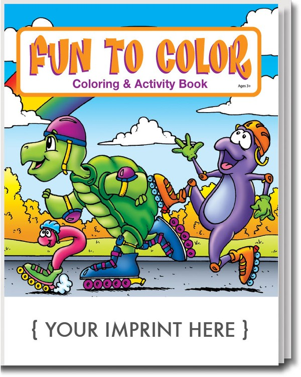 COLORING BOOK - Fun To Color Coloring & Activity Book