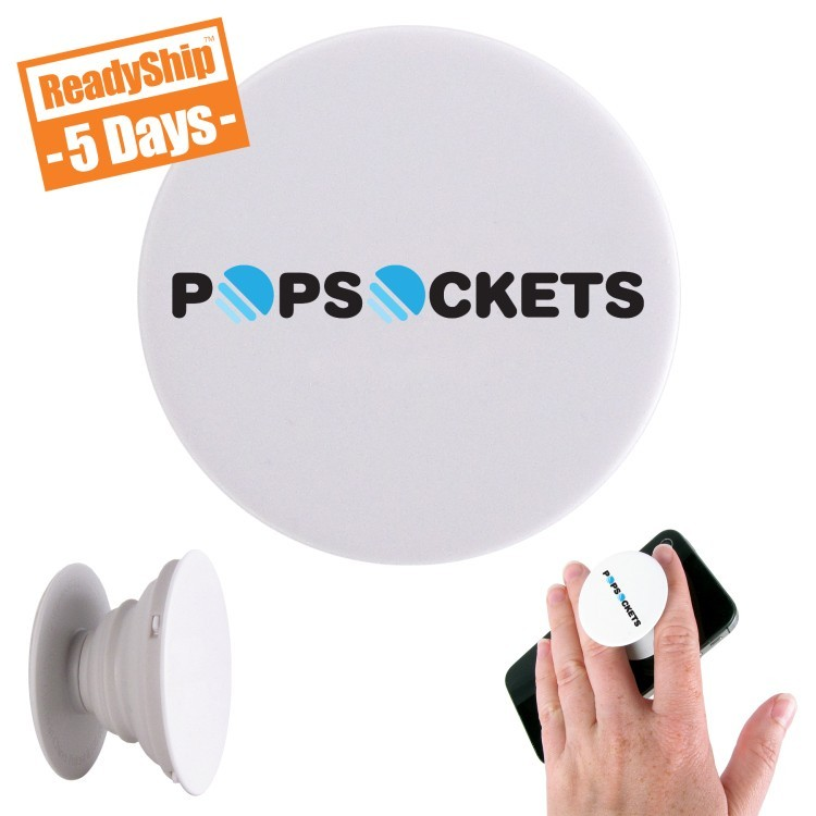 PopSocket Phone or Tablet Accessory, Custom Printed with Your Logo or Artwork