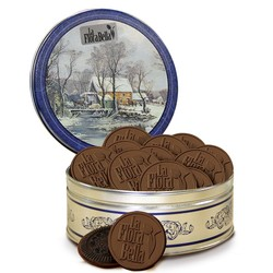 12-Pack Round Cookie Tin