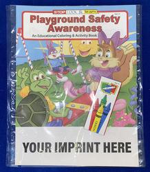 COLORING SET - Playground Safety Awareness Coloring Book Fun Pack - Coloring Book Fun Pack