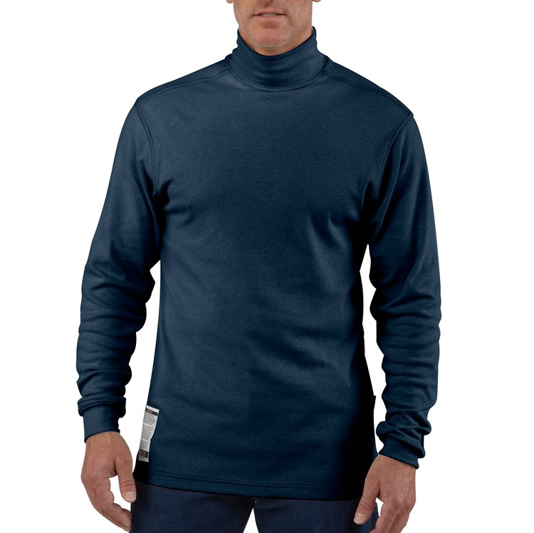 Flame Resistant Safety Long-Sleeve Mock Turtleneck