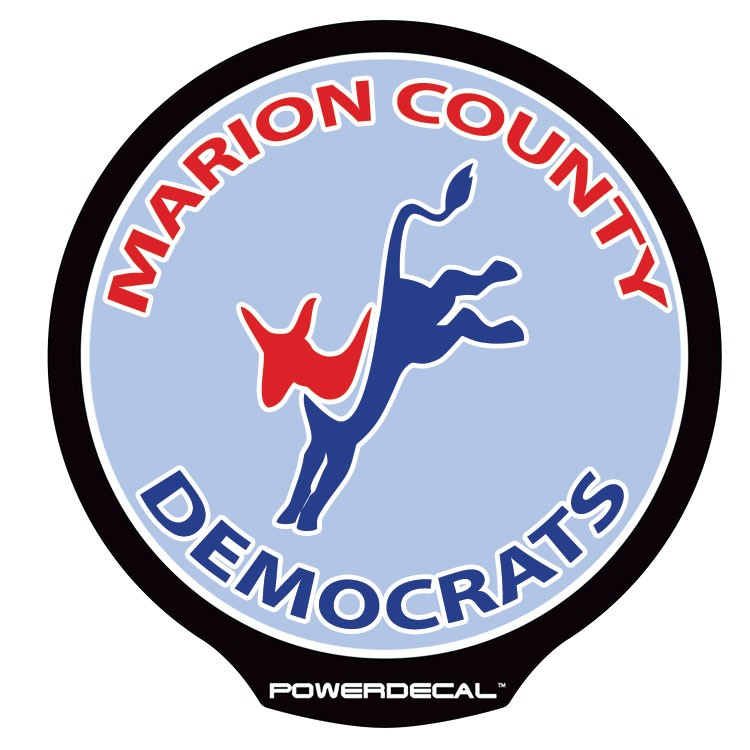 Marion County Democrats POWERDECAL™