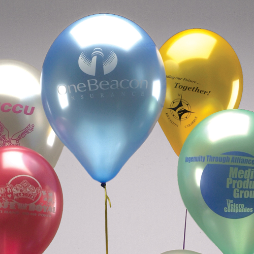 9 Pearlized Balloons
