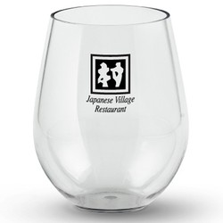 20 oz Acrylic Stemless Wine Glass