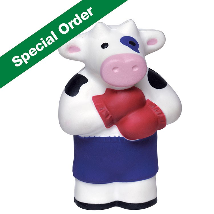 Boxing Cow Squeezies Stress Reliever
