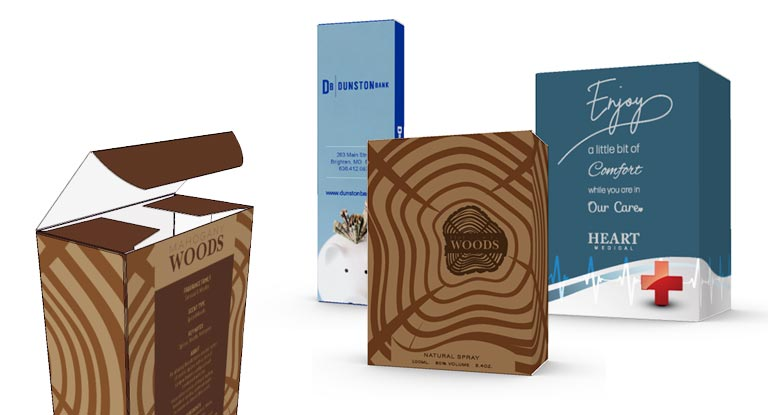 Custom Printed Paper Tuck Boxes