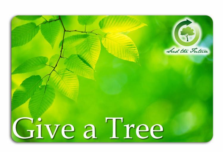 Plant-A-Tree - 5 Tree Card