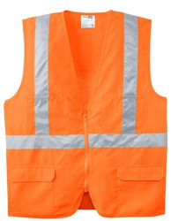 CornerStone - ANSI Class 2 Mesh Back Safety Vest.