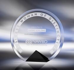 Cyrk Crystal Award - Small