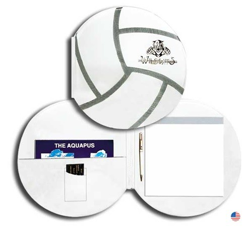 Real Feel Volleyball Folder & Pad Holder