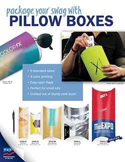 Pillow Box Marketing Flyer for Warwick Publishing
