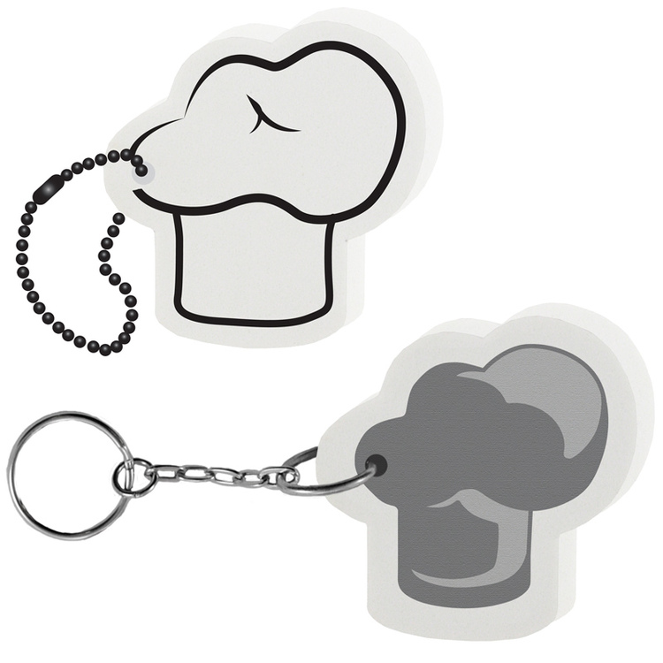 Chef's Hat Key Tag - Chef's Hat Key Tag