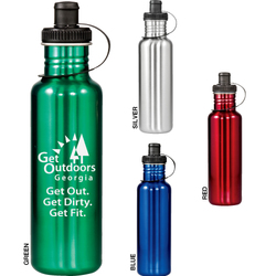Adventure 28 oz. Stainless Steel Bottle - Drinkware
