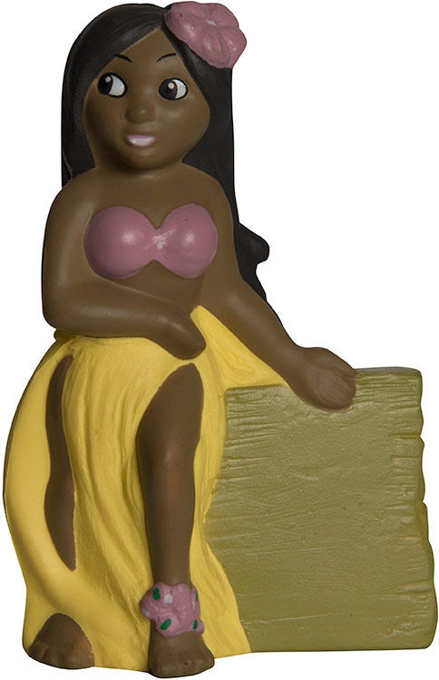 Hula Girl Squeezies Stress Reliever