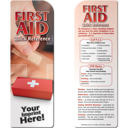 Bookmark - First Aid: Quick Reference