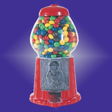 11 1/2 H DIE CAST IRON GUMBALL MACHINE