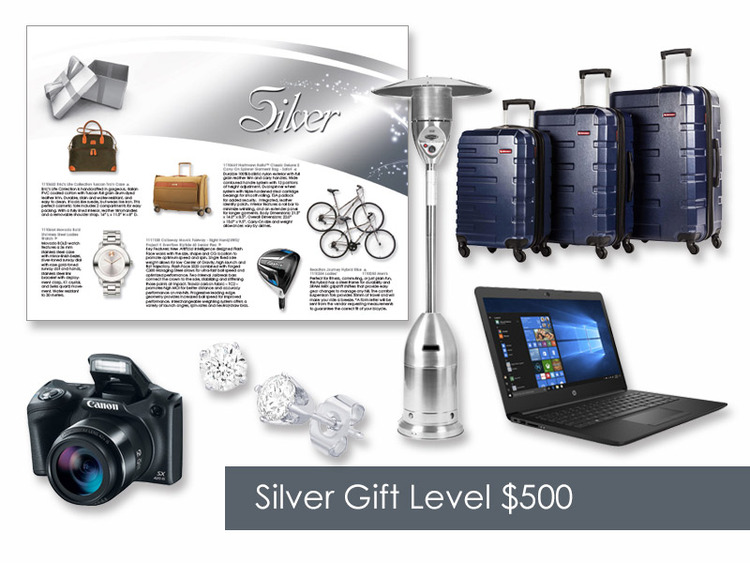 $500 Gift of Choice (Silver Level) Gift Card