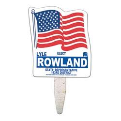 Flag Mini Seed Stick Fan