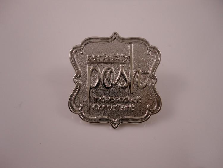 1.25 Die-Struck Lapel Pins - Custom Die-Struck Lapel Pins