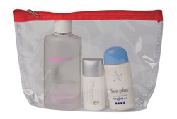 Cosmetic/travel/toiletry bag.Translucent personal items pouch for traveling