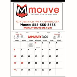 Large Apron Calendar