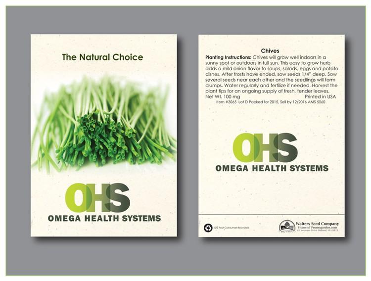 Chives Herb Seed Packet - Imprinted Seed Packet