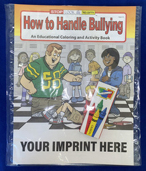 COLORING SET - How to Handle Bullying Coloring Book Fun Pack - Coloring Book Fun Pack
