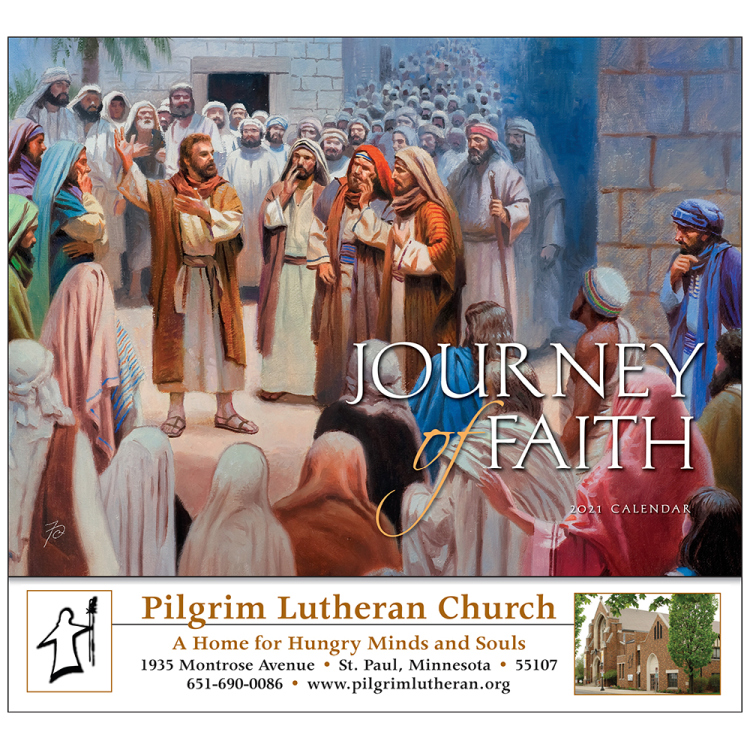 Journey of Faith Appointment Calendar, Universal Edition