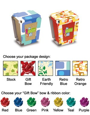 Promo Planter, 1-Pack Planter, Full Color Digital
