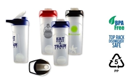 24oz Frosted Shaker Bottle, Includes Frosted Shaker Ball