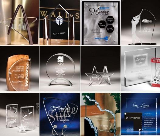 Custom engraved Awards crystal acrylic Zeit 448x527.jpg