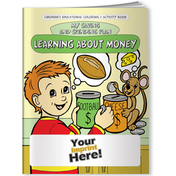Financial, Learning About Money: My Saving and Spending Plan - Coloring Book