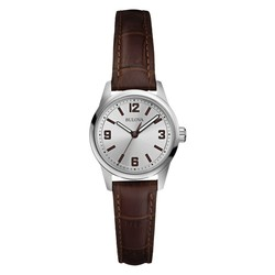 Bulova Corporate Collection Women's Brown Strap Watch
