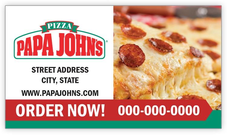 Papa John's Pepperoni Magnet