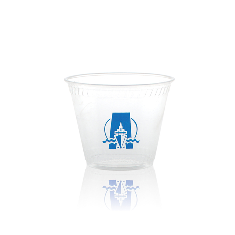 9 oz Clear Greenware® Rocks Cup -Tradition
