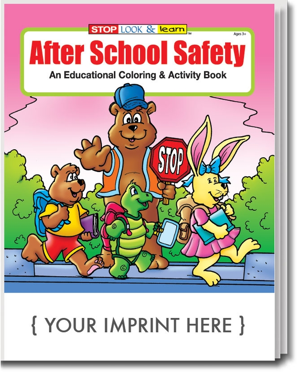 After School Safety Coloring Book Fun Pack 0240fp Cloud Template
