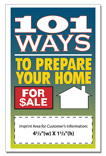 101 Ways To Prepare Your House For Sale