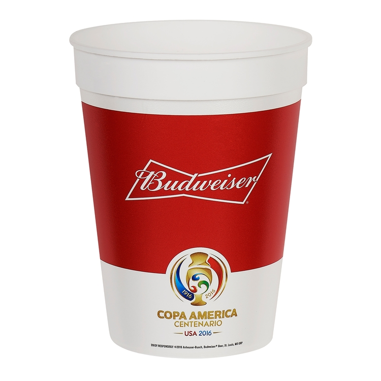 22 oz. Plastic Stadium Cup w/Full Color In Mold Labeling