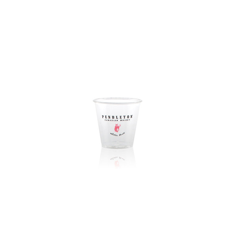 3.5 oz Soft Sided Clear Plastic Cup - Hi-Speed