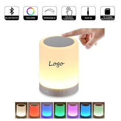 Bluetooth Speaker and LED Lamp All in One