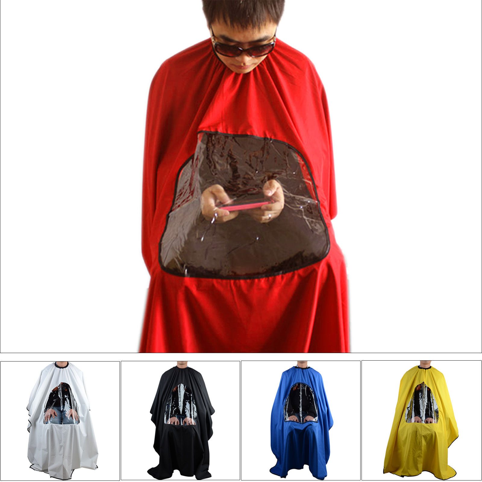 Hair Cutting Clothes Viewing Window Hairdressing Cape