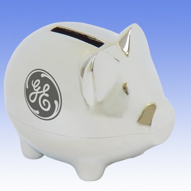 Small Piggy Bank Bright 4116cs Promotional Advertising Products