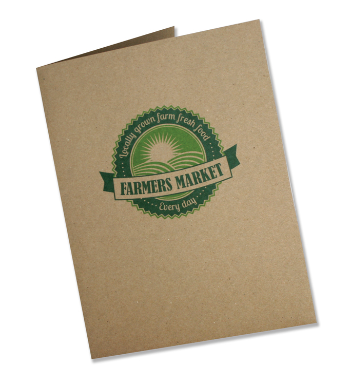 Recycled Economical Printed Folders