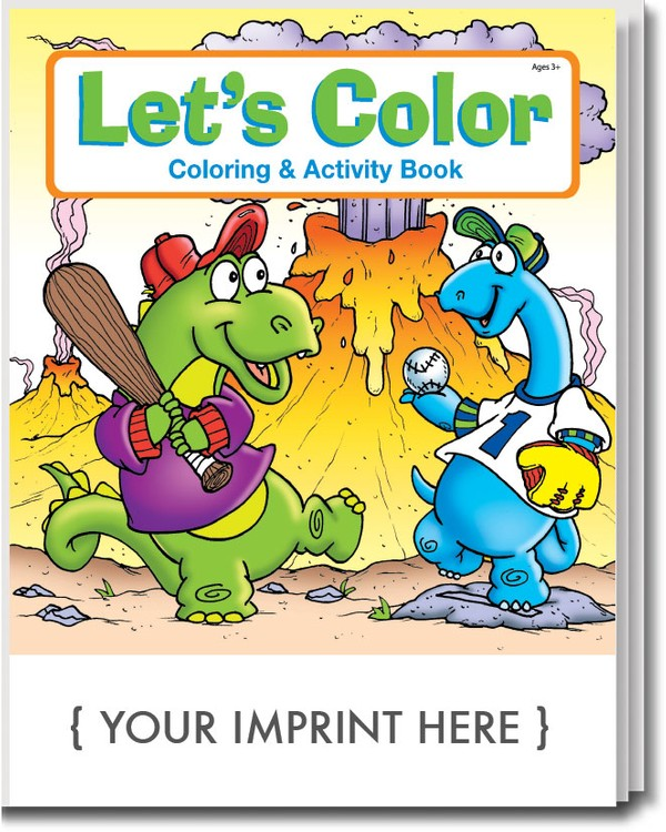 COLORING BOOK - Let\'s Color Coloring & Activity Book - 0550 ...