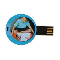 RPM Mini Flash Drive - Round