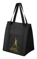 13 x 10 x 15 Insulated Nonwoven Grocery Tote Bag