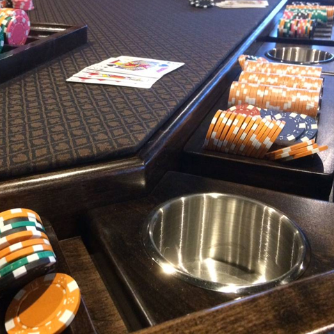 10 Player Poker Table Lost Mill Woodworking