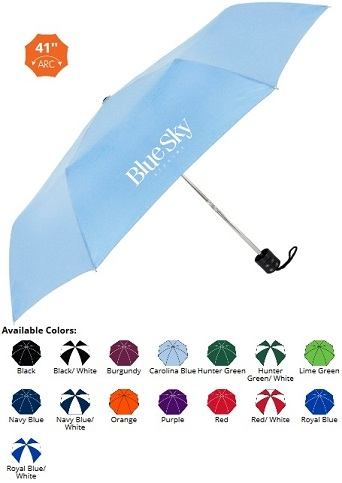 41 Inch Economy Folding Umbrella SALE - NOW ONLY $4.79 Until June 30th!